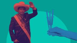 Peru President Pedro Castillo and vaccines