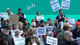 Democrats and Unions lose popularity in middle U.S